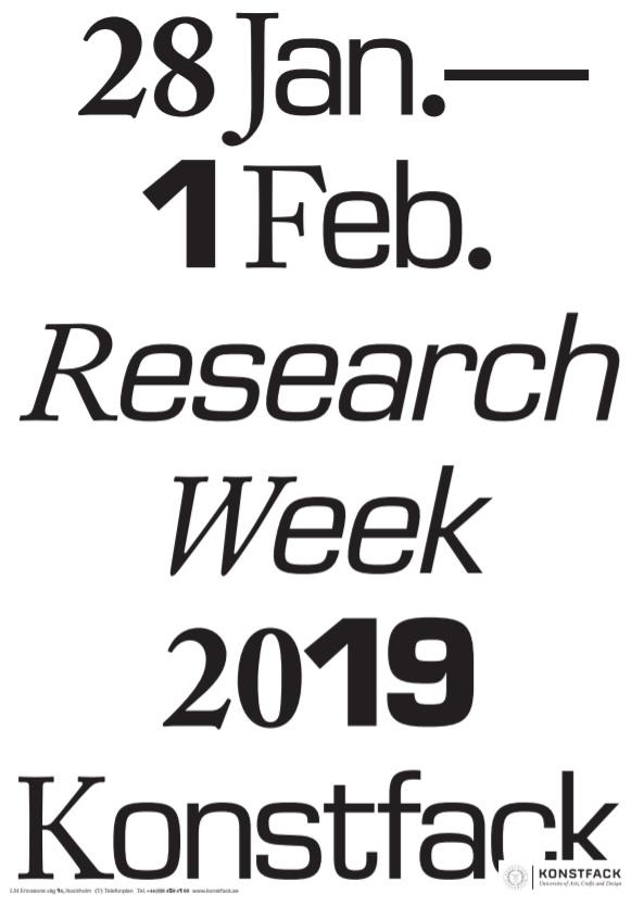 research week